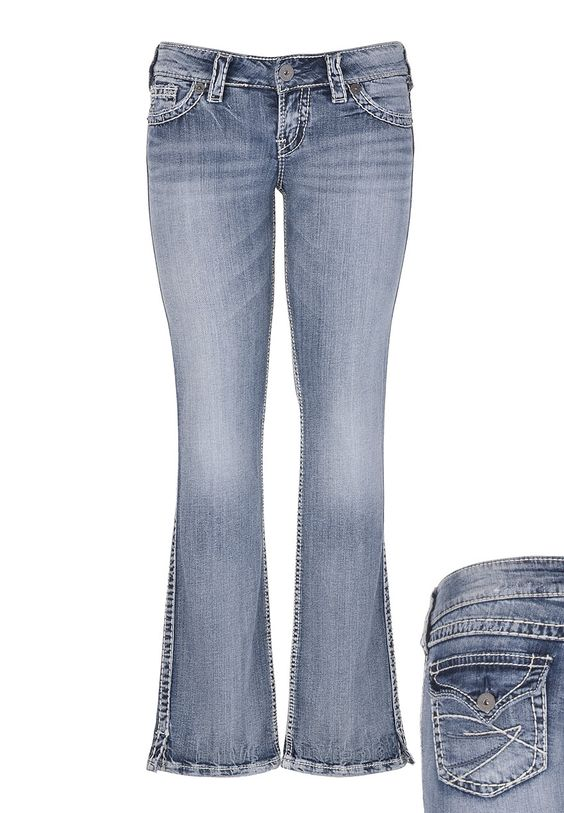 Silver Jeans, my 2nd favorite after Miss Me, great jeans ...