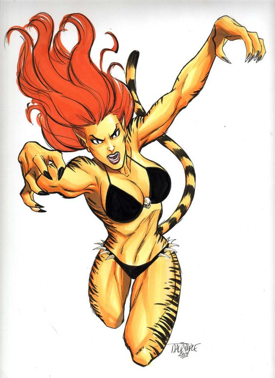 tigra marvel | sexys females | Pinterest | Marvel