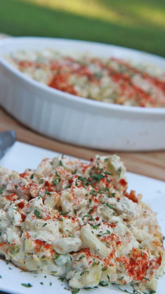 Southern Tuna Macaroni Salad ~ Easy | Divas Can Cook