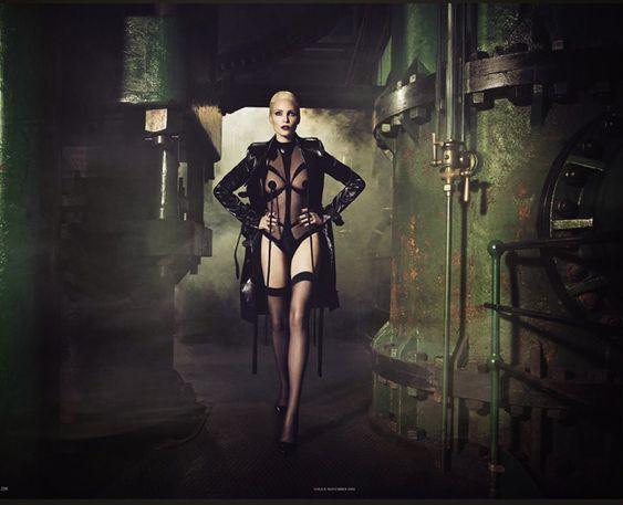Nadja Auermann By Luigi + Iango For Vogue Germany November2014