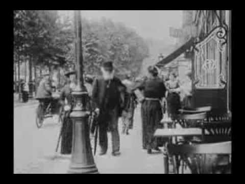 This is unique film of the Impressionist painter Edgar Degas captured walking down a street in Paris in 1915. Enjoy!