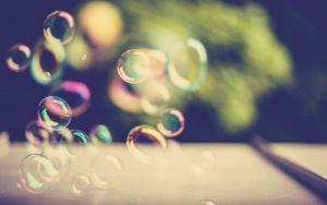 Preview wallpaper blick, bubbles, light, background