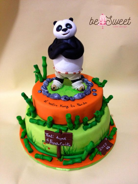 Torta Kung fu Panda - Cake by BeSweet