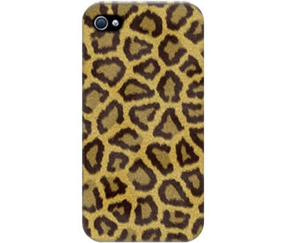 "Wrappz (iPhone 4 & 4S Case) - ""Leopard Yellow"" available on: http://simplecastle.com/product-details.asp?id=1002"