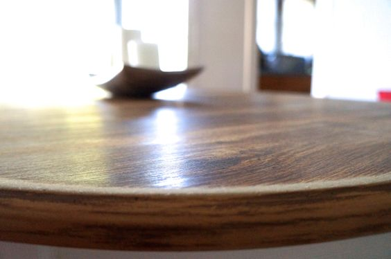 veneer table makeover