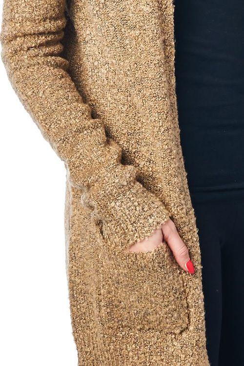 Camille's Camel Knit Cardigan - Lele B's Boutique #onlineboutique #winterwardrobe #fashionaddict