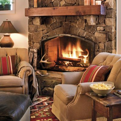 warm and cozy fireplaces