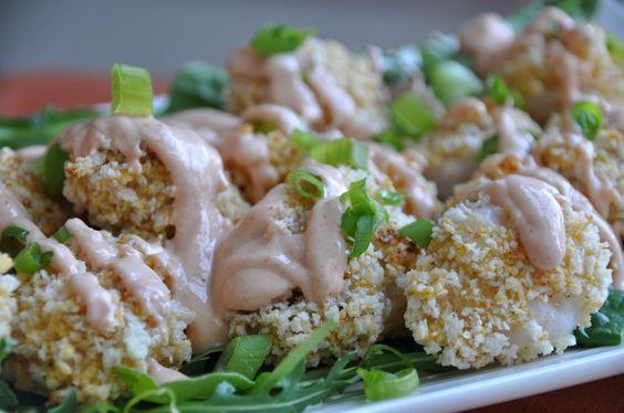 Baked Bang Bang Shrimp Clean Eats 101 Clean recipes healthy appetizers copycat recipes