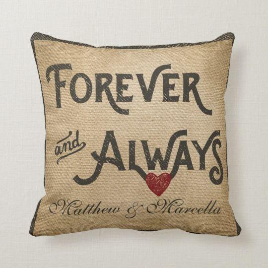Monogram Faux Linen Burlap Rustic Chic Initial Jut Throw Pillow Zazzle Com Burlap Monogram Monogram Pillows Throw Pillows