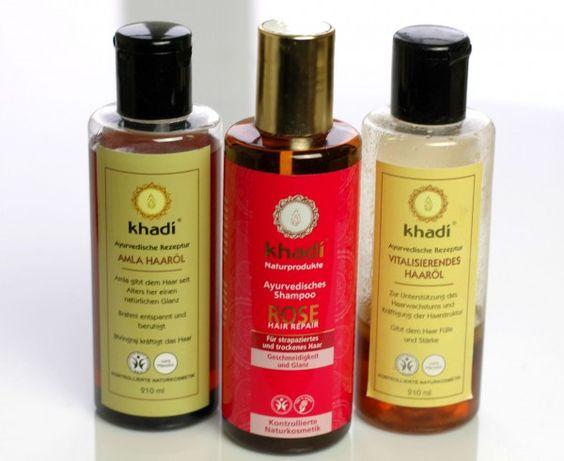 Khadi Rose Hair Repair Shampoo im Test: Extrem trockene Haare - BlondBlog