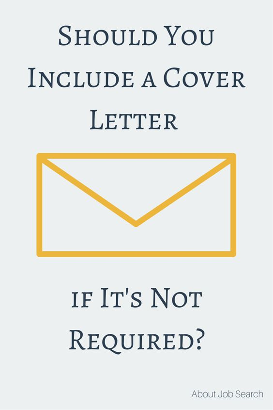 Should You Include A Cover Letter If It'S Not Required