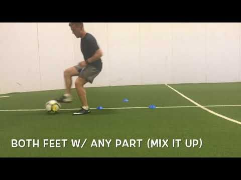 3 Cone Ball Mastery Professional Soccer Training Ideas Amazing Individual Soccer Skills Youtube Soccer Skills Soccer Soccer Training