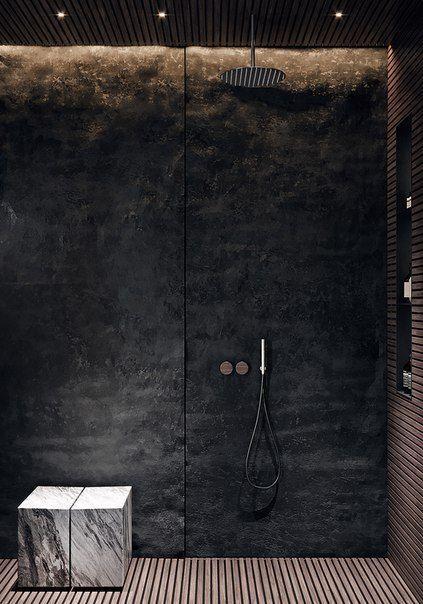 Fugen Sie Unsere Badezimmerdekorationsideen Ihrer Wunschliste Hinzu Und Holen Sie Sich Das Schonste Haus Bathroom Inspiration Modern Stone Shower Walls Bathroom Interior