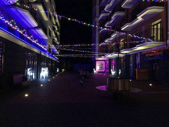 Светлогорск в канун Нового 2019 года. Фото: Evgenia Shveda
