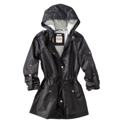 Mossimo® Womens Hooded Rain Anorak - Assorted Colors perfect for