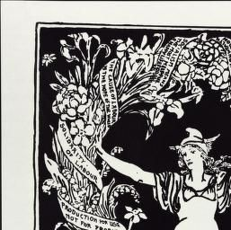 Political Posters, Labadie Collection, University of Michigan: A Garland for May Day 1895