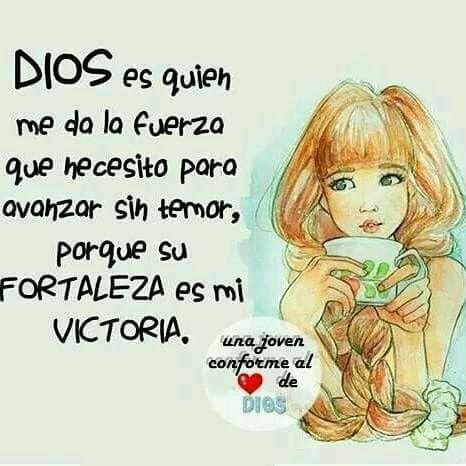 Dios es quien me da fortaleza