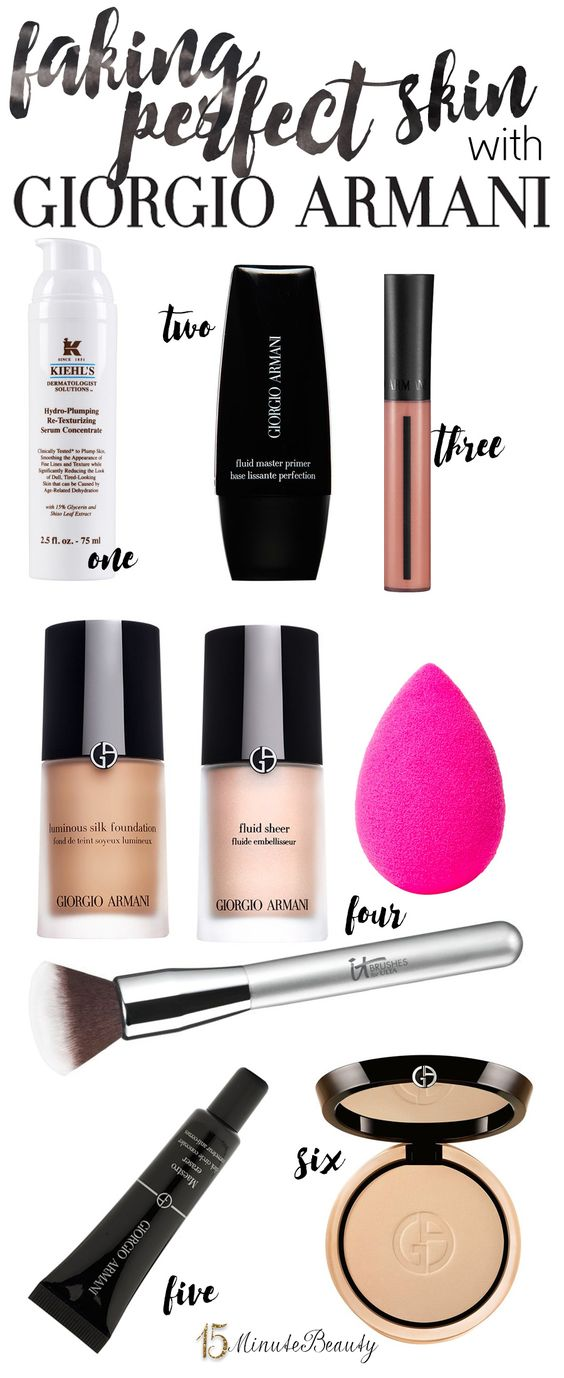 My Favorite (Recent) Beauty Splurge: Winter Foundation Overhaul with Giorgio Armani via @15 Minute Beauty