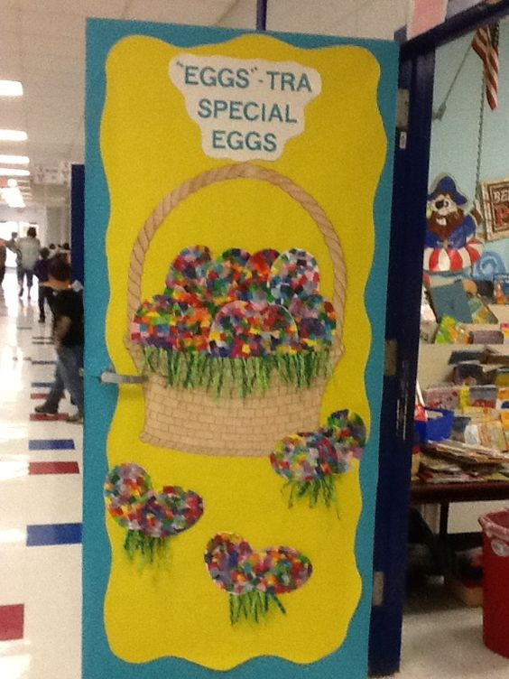 Easter Classroom Decor : Easter door classroom pics pinterest photos