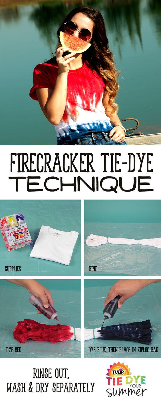 tulip one step tie dye kit instructions