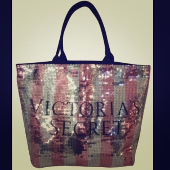 VS SEQIUN CANVAS TOTE BNWT VS limited edition tote. Never even taken out of the bag! Victoria's Secret Bags