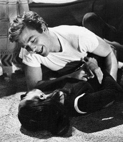 Audrey Hepburn and Peter O'toole,