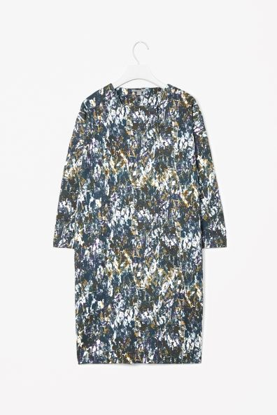 Printed jersey dress - Cos