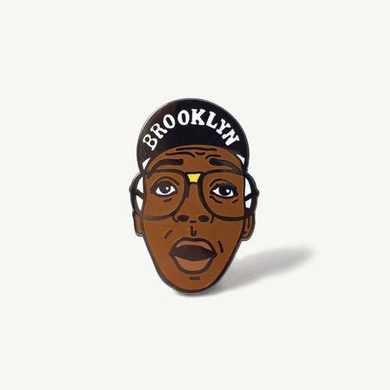 Fancy - Spike Lee Brooklyn Pin by Pintrill x STATE