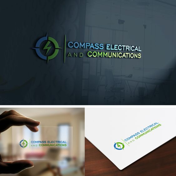 Create a unique Brand Identity for Compass Electrical and Communications by Art_de*