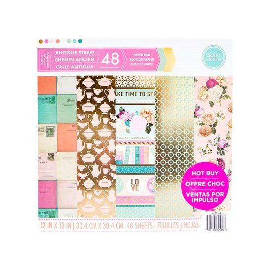 Carta Bella TRAVEL STORIES 6x6 Paper Pad Scrapbook 24 sheets Planner Vacation
