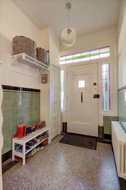 Jaren 30 Keuken Amsterdamse School : helft van een dubbel jaren '30 woonhuis. De woning is in 2013 hoog