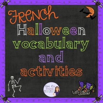 Are you good at french, and know about halloween?