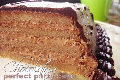 Daring Bakers – Bolo de Festa Perfeito — Chocolatria
