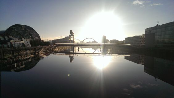 Andrew McLaughlin - Here is my (very) fleeting moment of the start of summer in Glasgow. It ended about 30 seconds after this pic was taken...