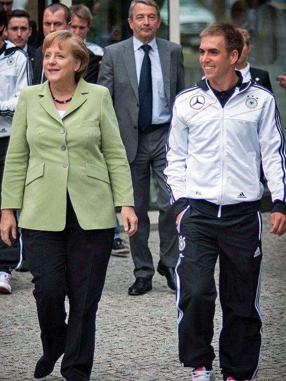 Ein großer Fan des A-Teams: Bundeskanzlerin Angela Merkel
