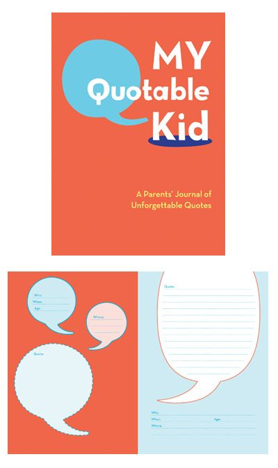 best book for documenting kids wisdoms