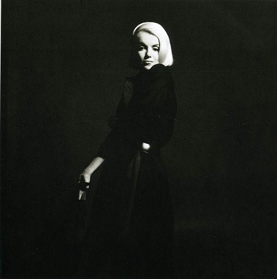 Marylin Monroe - Last setting - Robe noire © Copyright Bert Stern