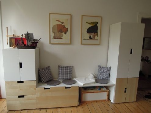 neues sohnzimmer basteln schlupfwinkel und aufsatz. Black Bedroom Furniture Sets. Home Design Ideas