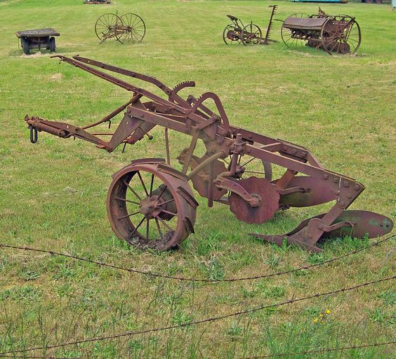 old farm equipment images | old farm equipment---wa.: