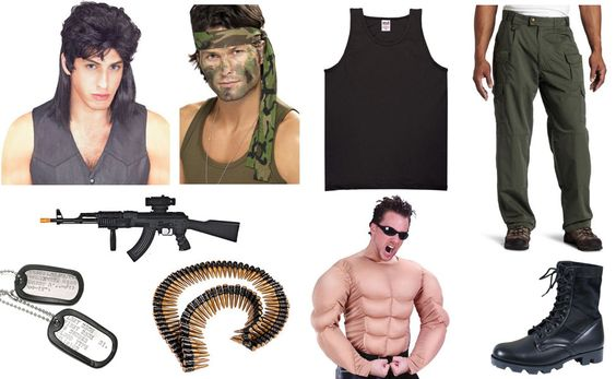 Rambo Costume Ideas Rambo Costume: maybe h...