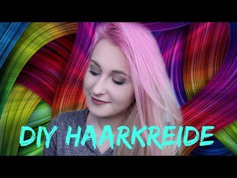 Diy Haarkreide Selber Machen Bunte Haare Ohne Farben Tonen Auch