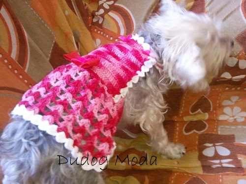 vestido de perritas a crochet - Buscar con Google