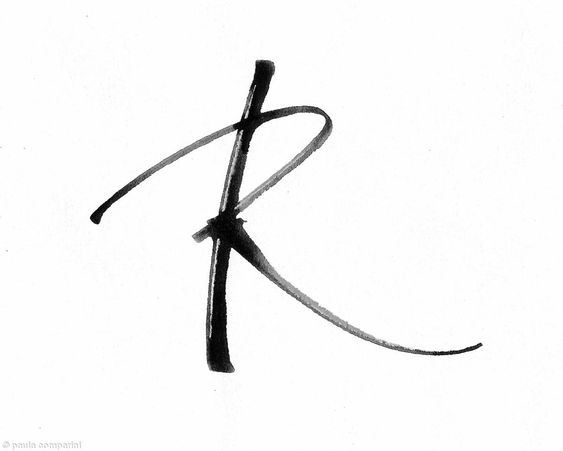 Letter r letter r r pinterest typography search for Letter r tattoo