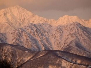 Japanese Alps, Hakuba, Japan