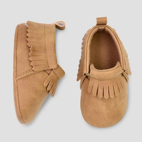 Baby Boys' Moccasin Crib Shoes - Just