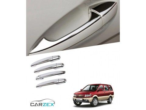 Chrome Door Handle Cover Chevrolet Tavera With Images Car