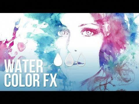 Effetto Acquerello Watercolor Effect Tutorial Photoshop In