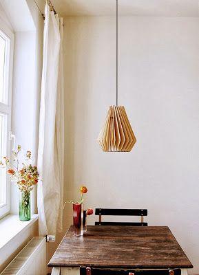 meu canto blog: Lámparas de Origami