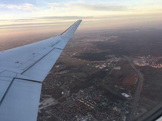 Под крылом самолета - Гданьск