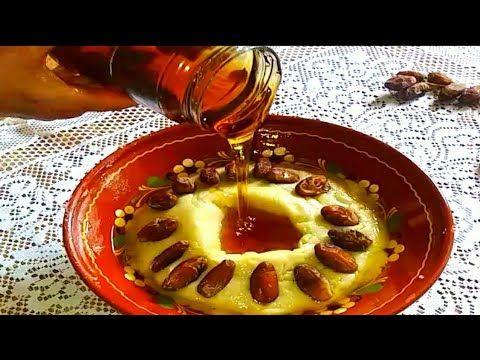 عصيدة السميد التونسية الاصلية من يديات الوالدة ربي يحفظها Youtube Food Breakfast Oatmeal